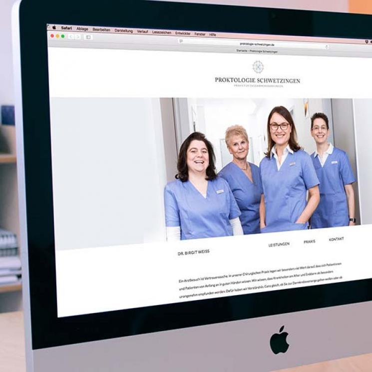 Proktologie Schwetzingen Website