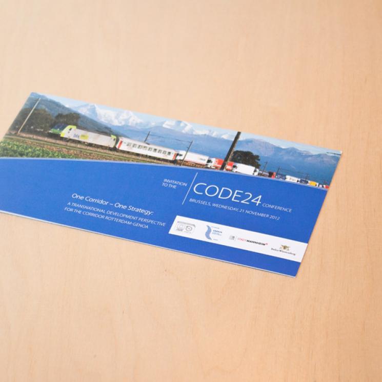 CODE 24 Einladung