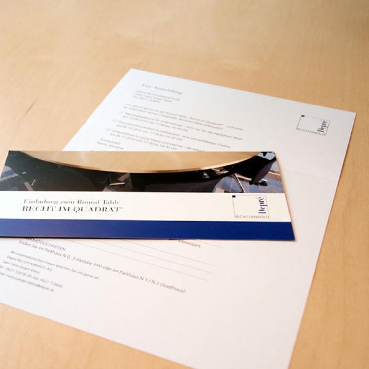 Depré RECHTSANWALTS AG Einladung