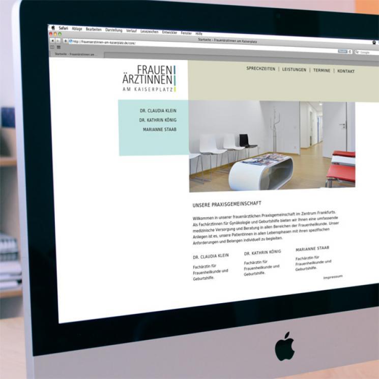 Frauenärztinnen am Kaiserplatz Website