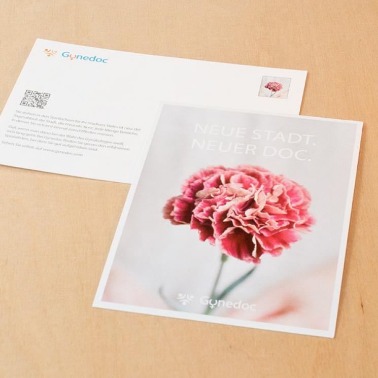 Gynedoc Postkarte