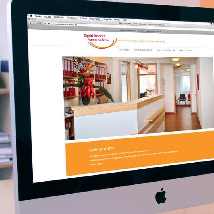 Hausarztpraxis Knecht Website