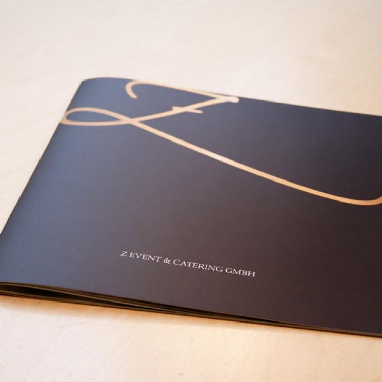Z Event- & Catering Broschüre